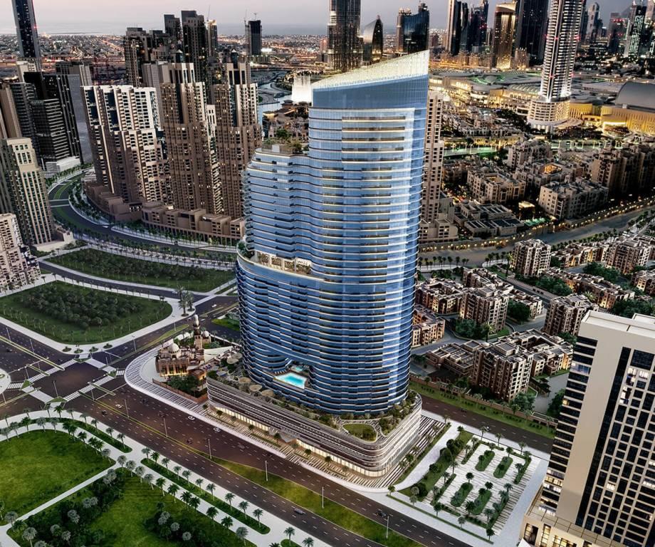 پیش فروش آپارتمان در داون تاون دبی