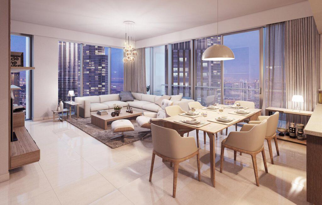 خرید آپارتمان با دید کامل برج خلیفه