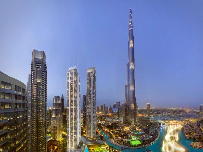 برج های داون تاون دبی