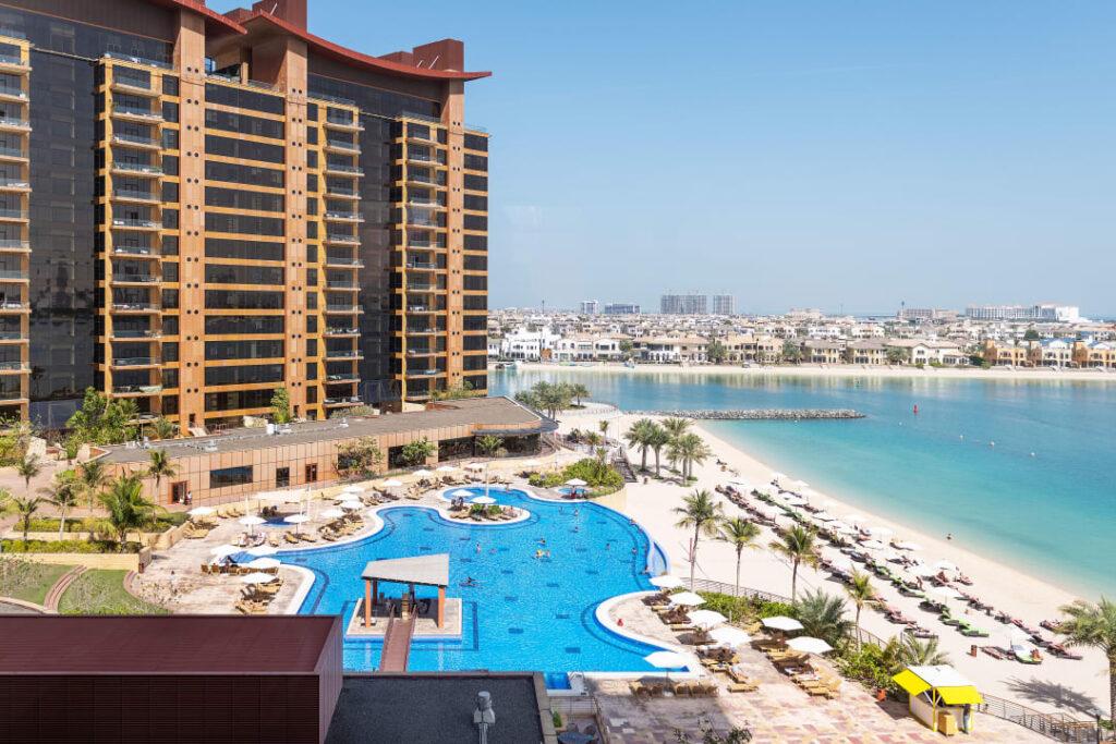 آپارتمان ها در منطقه پالم جمیرا دبی