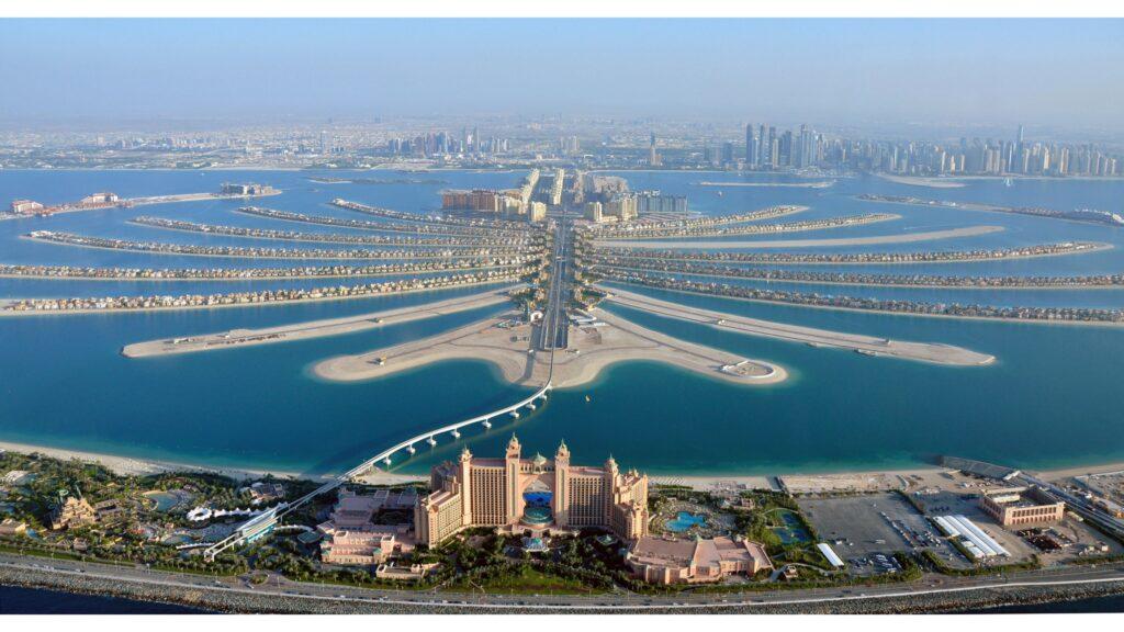 منطقه پالم جمیرا دبی
